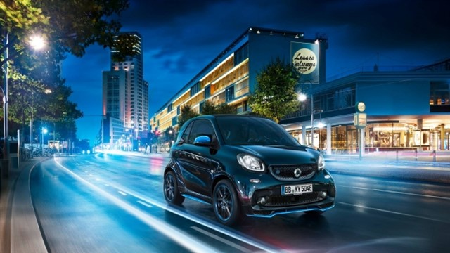 Mercedes: ecco la nuova Smart EQ