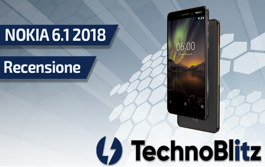 Recensione Nokia 6.1