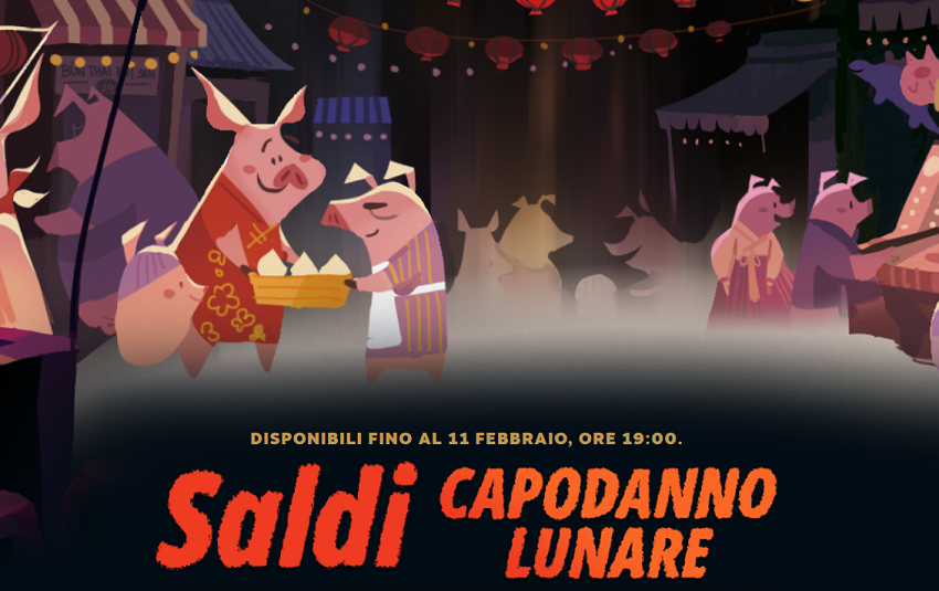 Steam capodanno lunare