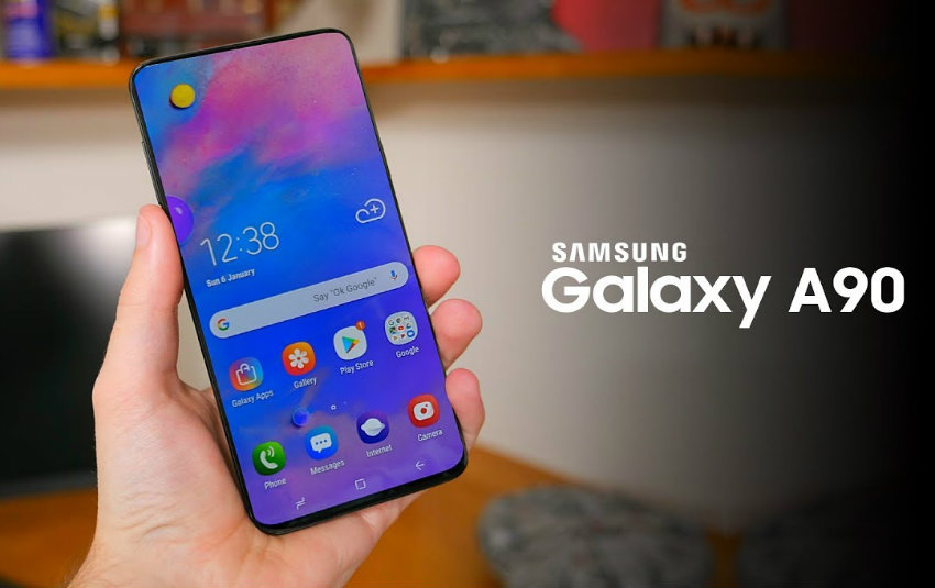 Samsung Galaxy A90 avrà un display da 6.7 pollici e niente notch
